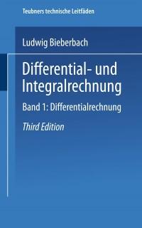 Cover Differential- und Integralrechnung