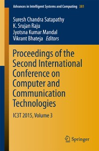 Cover Proceedings of the Second International Conference on Computer and Communication Technologies
