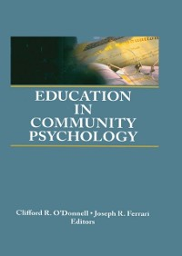 Cover Education in Community Psychology
