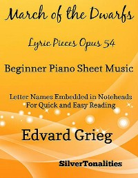 Cover March the Nutcracker Suite Beginner Piano Sheet Music