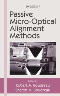 Cover Passive Micro-Optical Alignment Methods