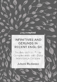 Cover Infinitives and Gerunds in Recent English