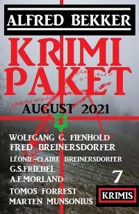 Cover Krimi Paket August 2021: 7 Krimis