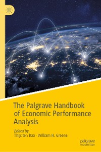 Cover The Palgrave Handbook of Economic Performance Analysis