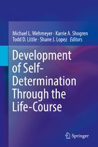 Cover Development of Self-Determination Through the Life-Course