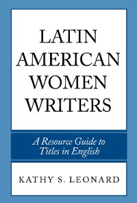 Cover Latin American Women Writers