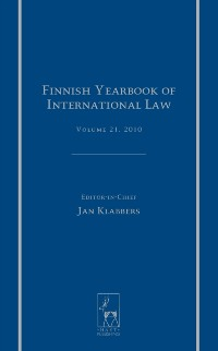 Cover Finnish Yearbook of International Law, Volume 21, 2010