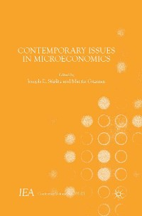 Cover Contemporary Issues in Microeconomics