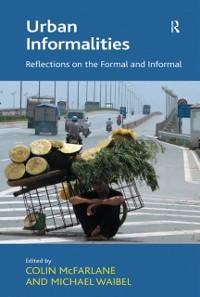 Cover Urban Informalities