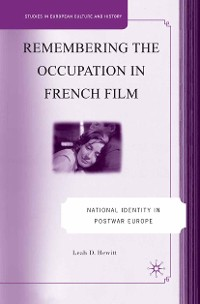 Cover Remembering the Occupation in French film