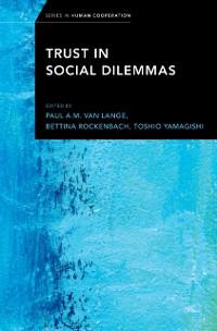 Cover Trust in Social Dilemmas