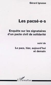 Cover Pacse-e-s: enquete sur les signataires d