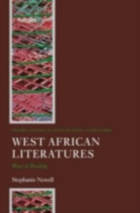 Cover West African Literatures