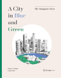 Cover A City in Blue and Green