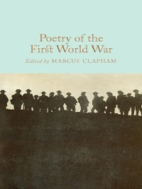 Cover Poetry of the First World War