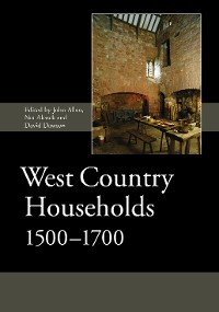 Cover West Country Households, 1500-1700