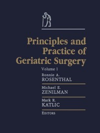 Cover Principles and Practice of Geriatric Surgery