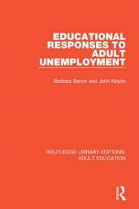 Cover Educational Responses to Adult Unemployment