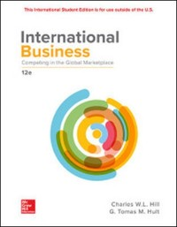 Cover eBook International Business: Competing in the Global Marketplace