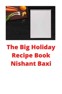 Cover The Big Holiday Recipe Book