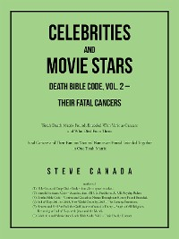 Cover Celebrities and Movie Stars Death Bible Code, Vol. 2 – Their Fatal Cancers