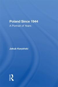 Cover Poland Since 1944