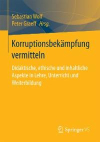 Cover Korruptionsbekämpfung vermitteln