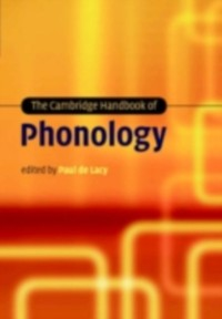 Cover Cambridge Handbook of Phonology
