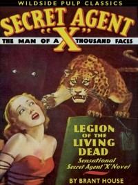 Cover Secret Agent X: Legion of the Living Dead