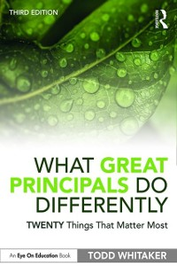 Cover What Great Principals Do Differently