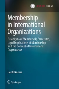 Cover Membership in International Organizations