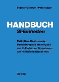Cover Handbuch SI-Einheiten