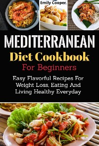 Cover Mediterranean Diet Cookbook for Beginners