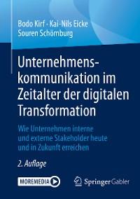 Cover Unternehmenskommunikation im Zeitalter der digitalen Transformation