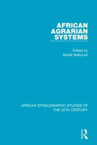 Cover African Agrarian Systems