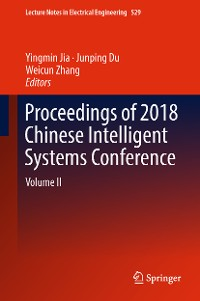 Cover Proceedings of 2018 Chinese Intelligent Systems Conference
