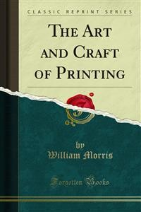 Cover The Art and Craft of Printing