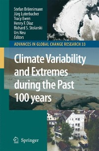 Cover Climate Variability and Extremes during the Past 100 years