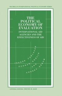 Cover Political Economy of Evaluation