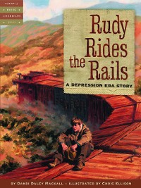 Cover Rudy Rides the Rails