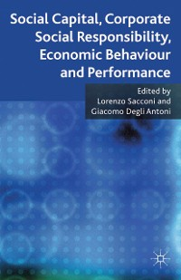 Cover Social Capital, Corporate Social Responsibility, Economic Behaviour and Performance