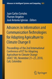 Cover Advances in Information and Communication Technologies for Adapting Agriculture to Climate Change II