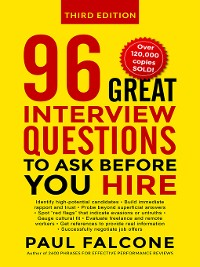 Cover 96 Great Interview Questions to Ask Before You Hire