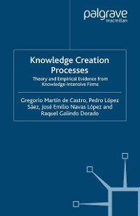 Cover Knowledge Creation Processes