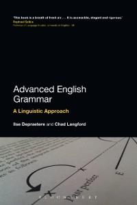 Cover Advanced English Grammar