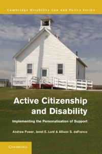 Cover Active Citizenship and Disability