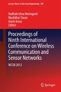 Cover Proceedings of Ninth International Conference on Wireless Communication and Sensor Networks