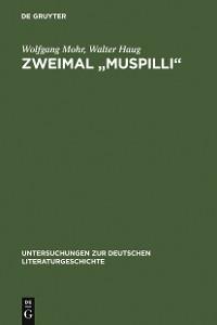 """Cover Zweimal """"Muspilli"""""""