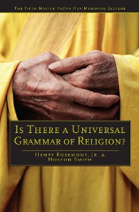 Cover Is There a Universal Grammar of Religion?