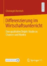 Cover Differenzierung im Wirtschaftsunterricht